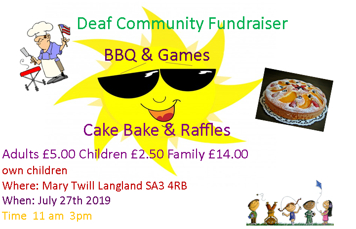 BBQ Fundraiser on 27th July at Mary Twill Lane